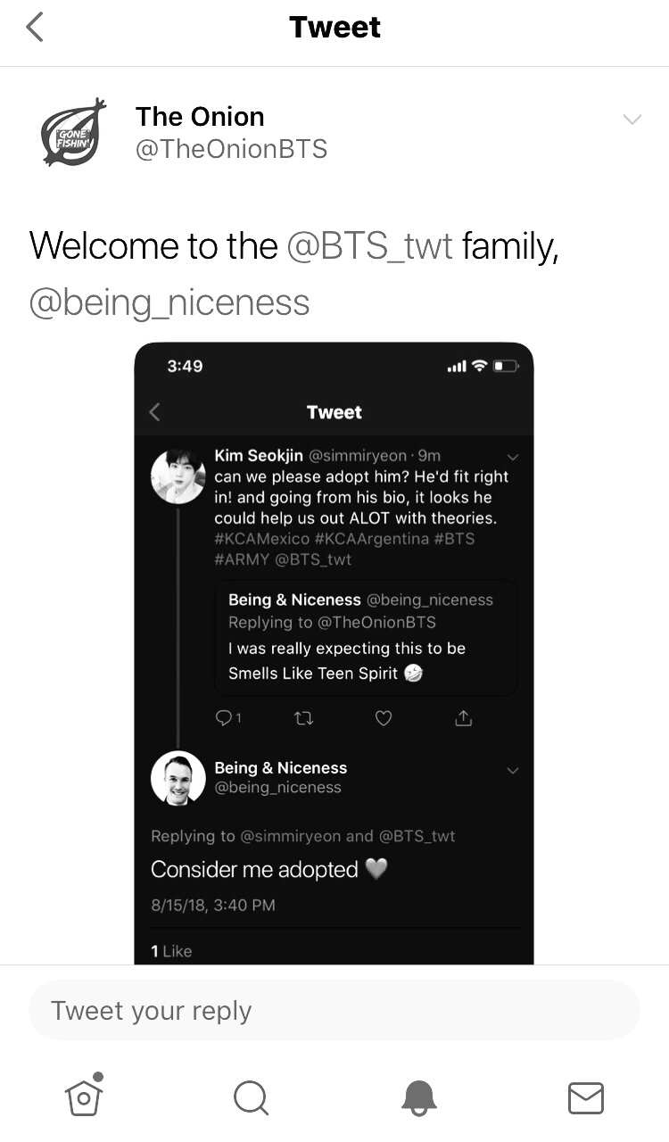 Smells Like BTS Spirit – The Tale of One Small Tweet and One Giant